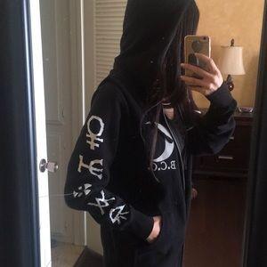 Black Craft Cult Zip Up Jacket